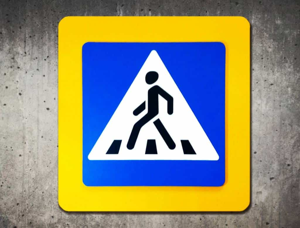 """Табличка """"Пешеходный Переход"""""""