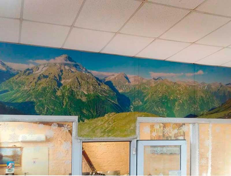 фриз-картина, оформление офиса